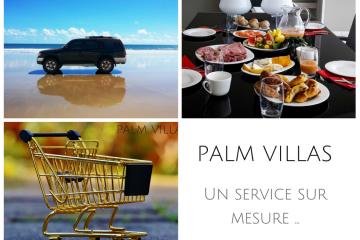 Palm Villas, un service de conciergerie sur mesure