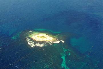 Survol de la Martinique